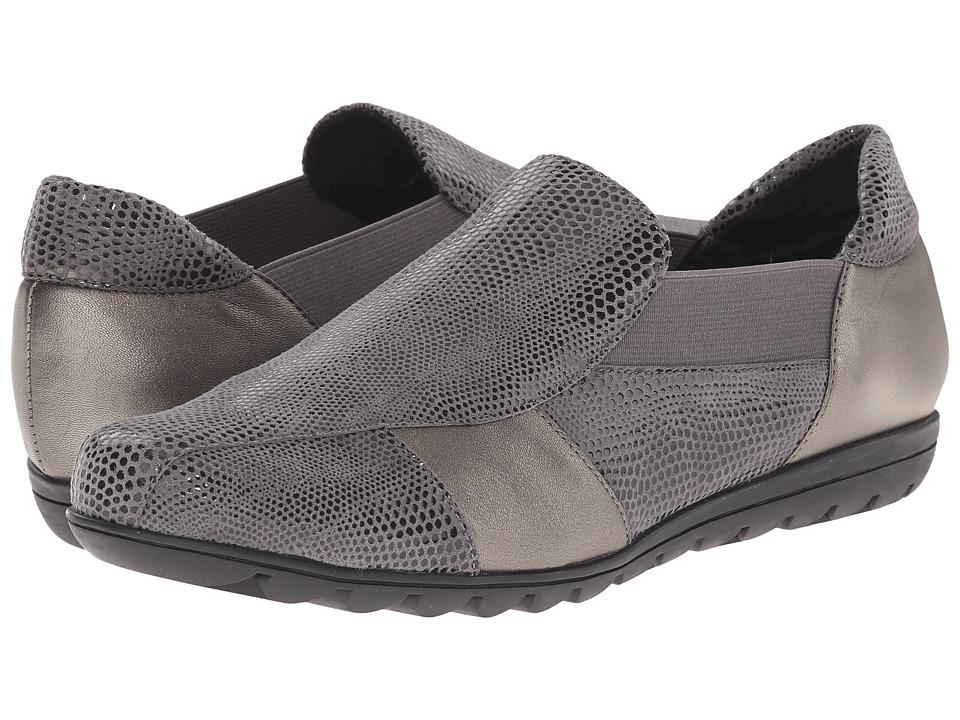 Vaneli Aroma Grey Amazzonia/Pewter Prl Nappa Womens Slip on Shoes