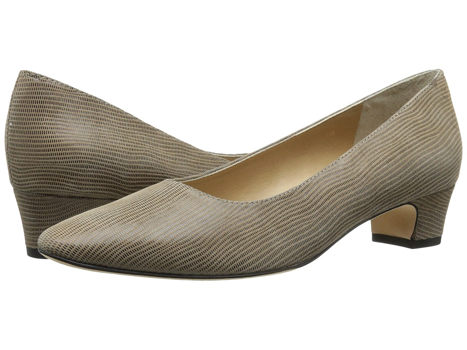 Vaneli Astyr Taupe Miniliz Print Womens 1 2 inch heel Shoes
