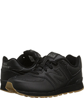 New Balance Kids - 574 Leather (Big Kid)