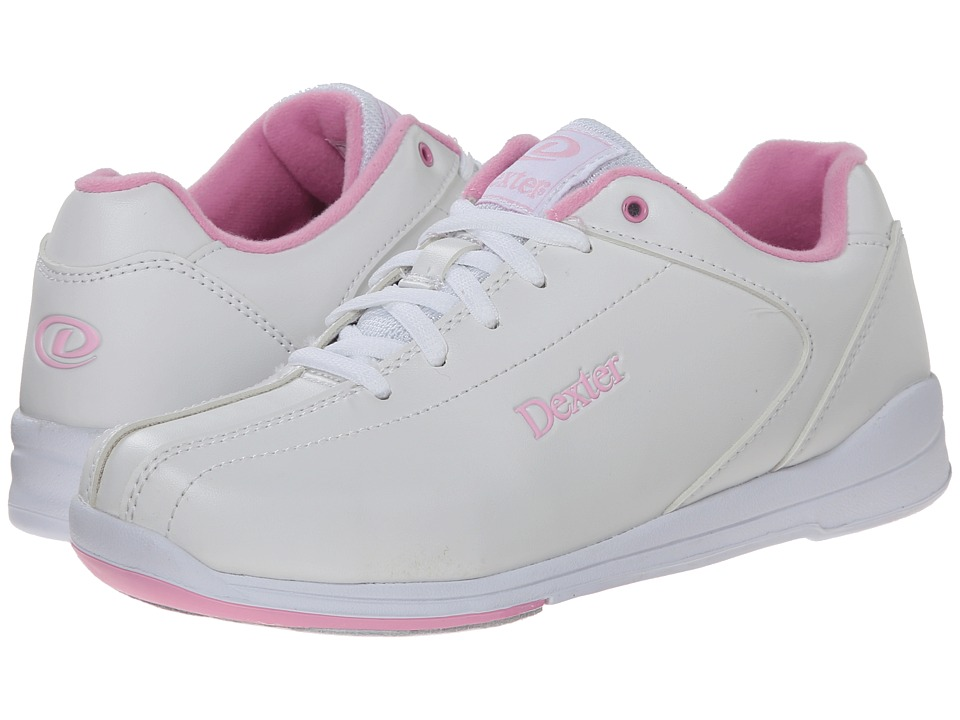 Dexter Bowling Raquel IV White/Pink Womens Bowling Shoes