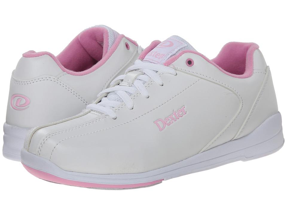 Dexter Bowling Raquel IV White/Pink Womens Bowling Shoes