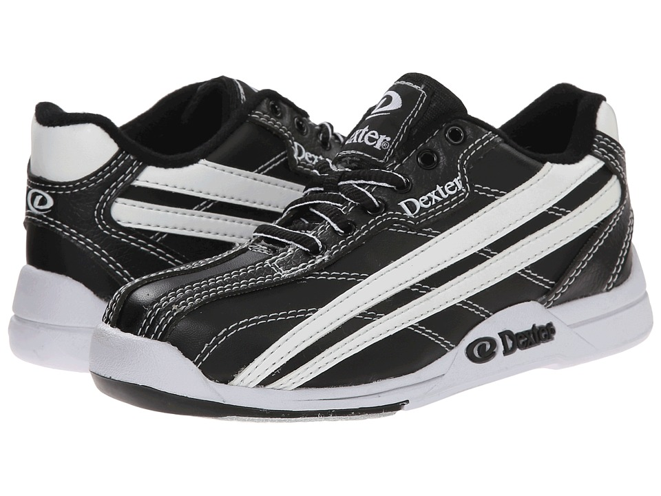 Dexter Bowling Jack Jr. Little Kid/Big Kid Black/White Mens Bowling Shoes