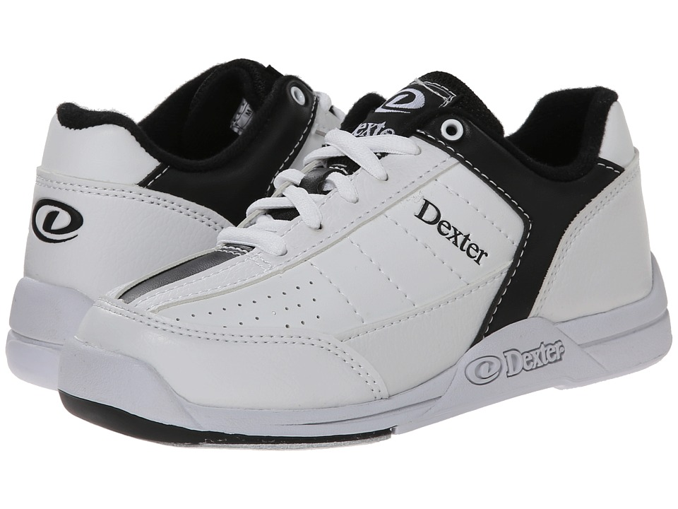 Dexter Bowling Ricky III Jr. Little Kid/Big Kid White/Black Mens Bowling Shoes