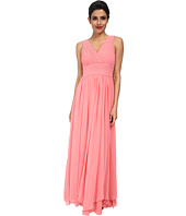 Eliza J - Sleeveless Pleated Bodice and Waist Gown