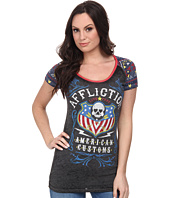 Affliction - Whiskey Sour Short Sleeve Raglan Tee