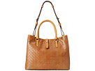 Dooney & Bourke Claremont Woven Perry Satchel