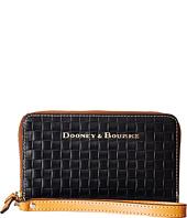 Dooney & Bourke - Claremont Woven Zip Around Phone Wristlet