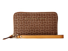Dooney & Bourke Claremont Woven Zip Around Phone Wristlet