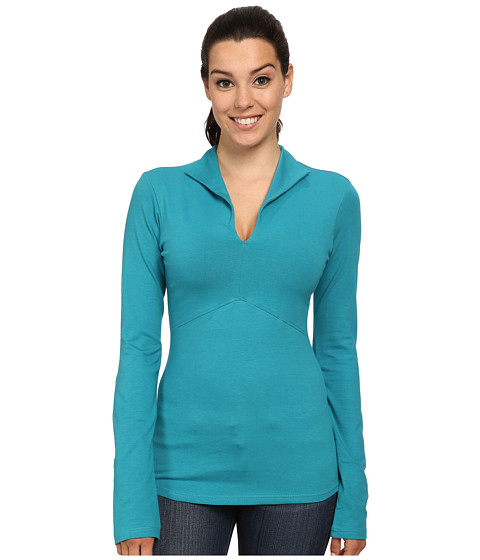 FIG Clothing - Shanghai Top (Topaz) Women's Long Sleeve Pullover