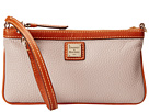 Dooney & Bourke Pebble Leather New SLGS Large Slim Wristlet