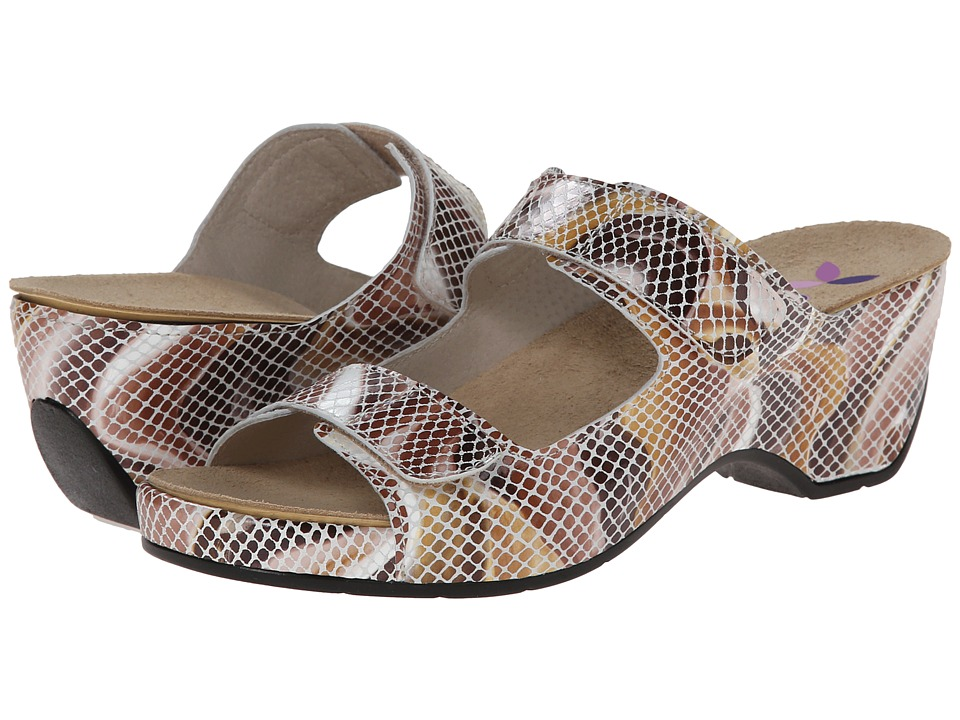 Helle Comfort - Amadi (Toast Multi Snake) Women