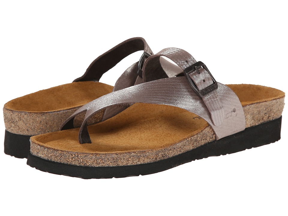 Naot Footwear Tahoe (Silver Threads Leather) Sandals