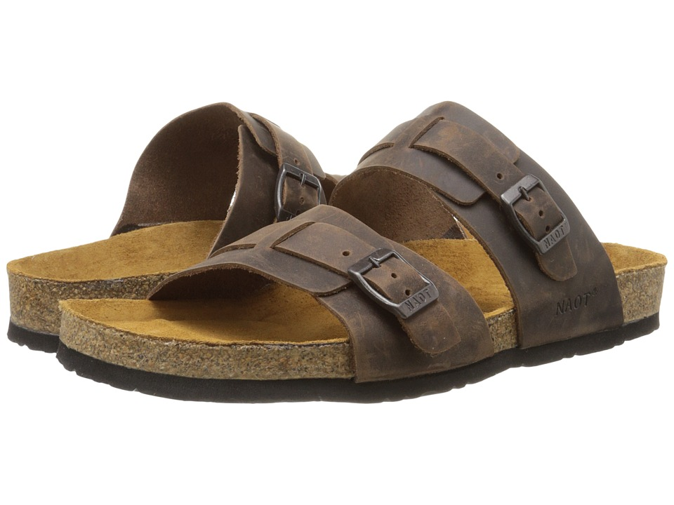 Naot - Santa Cruz (Crazy Horse Leather) Men's Sandals