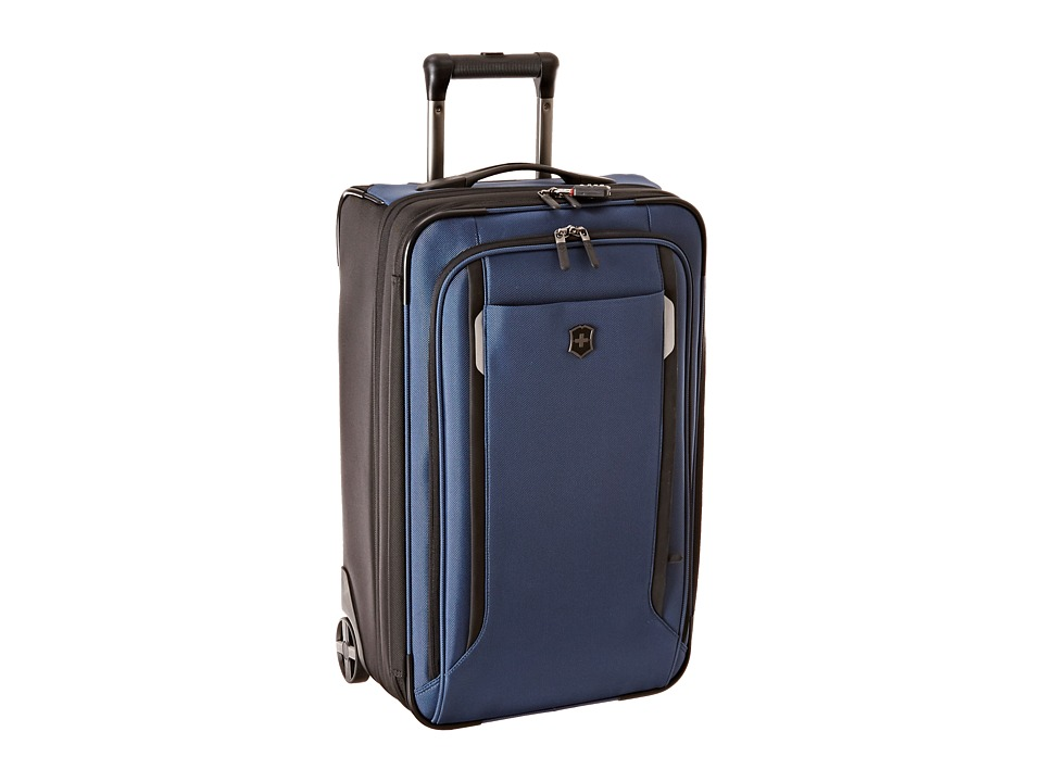 Victorinox - Werks Traveler 5.0 - WT 22 Expandable Wheeled U.S. Carry-On (Navy Blue) Carry on Luggage