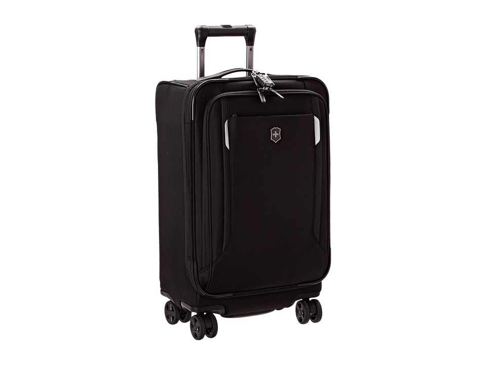 Victorinox - Werks Traveler 5.0 - WT 22 Dual Caster Expandable 8-Wheel U.S. Carry-On (Black) Carry on Luggage