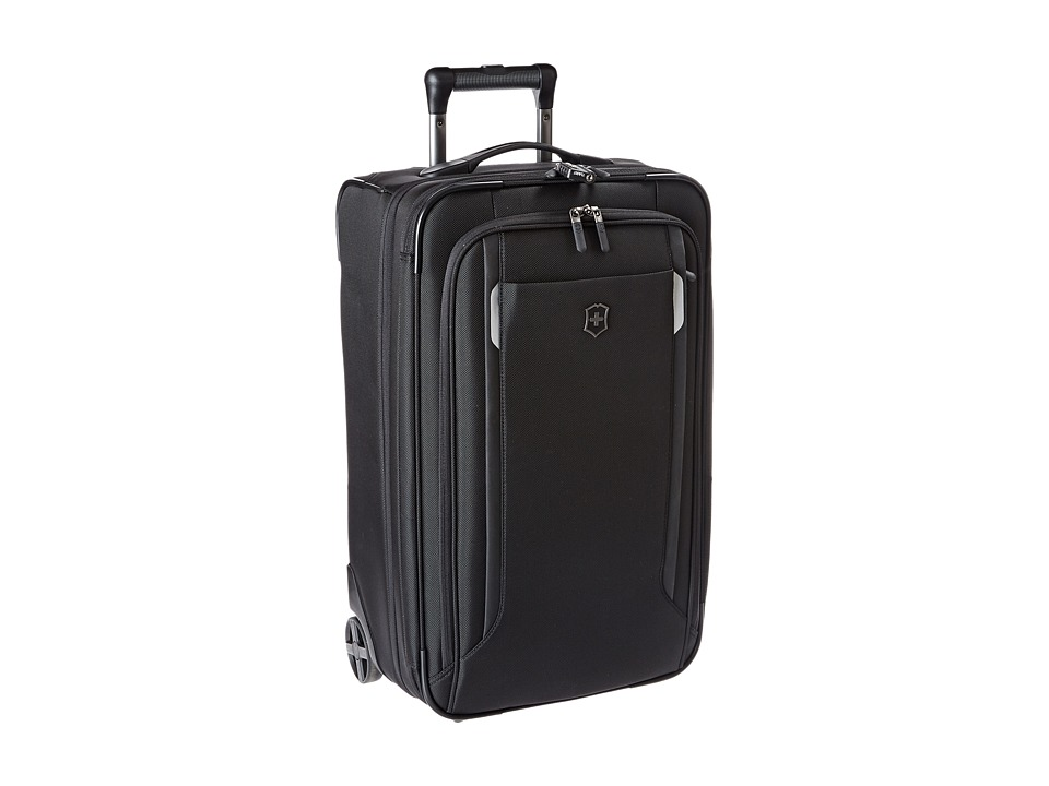 Victorinox - Werks Traveler 5.0 - WT 22 Expandable Wheeled U.S. Carry-On (Black) Carry on Luggage