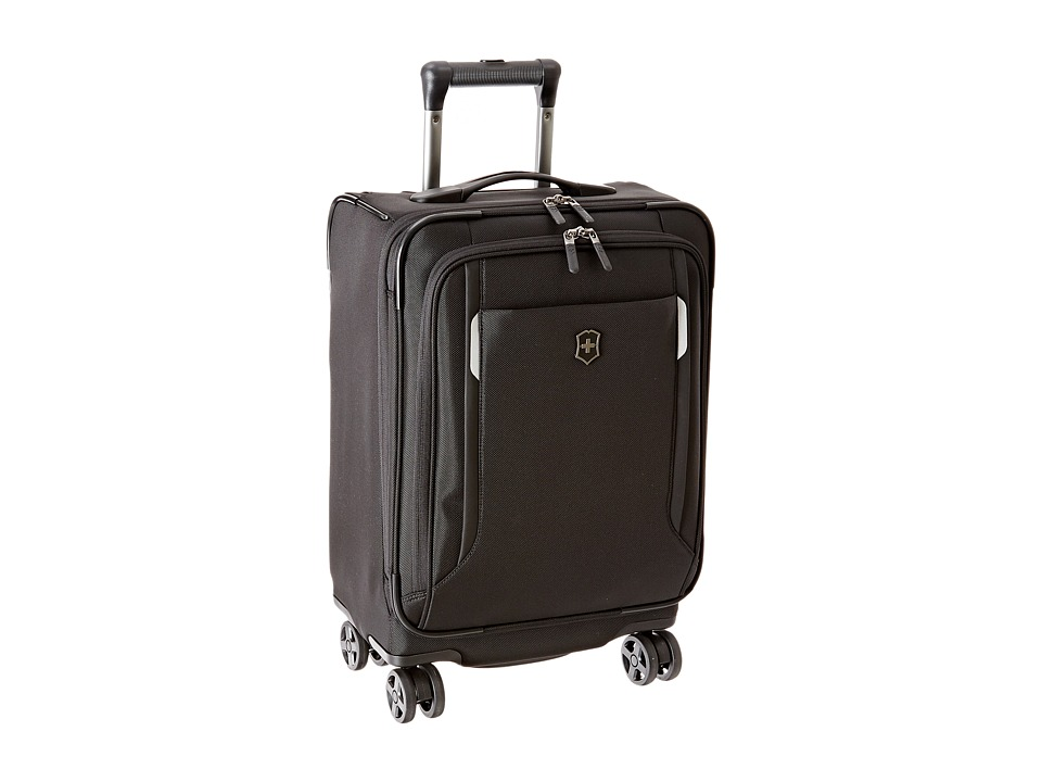 Victorinox - Werks Traveler 5.0 - WT 20 Dual Caster Expandable 8-Wheel Global Carry-On (Black) Carry on Luggage