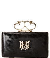 LOVE Moschino - Embosseed Leather Heart Clutch