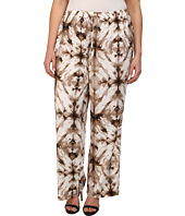 Calvin Klein Plus - Plus Size Printed Wide Leg Pants