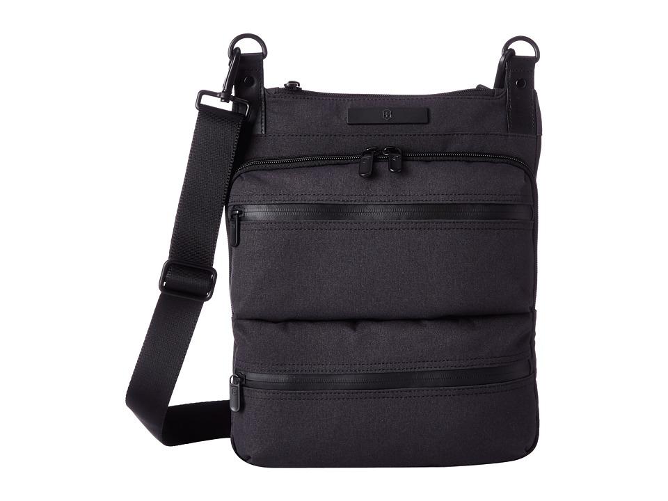 Victorinox - Architecture Urban - Wilson Crossbody Bag with Tablet/eReader Pocket (Grey) Cross Body Handbags
