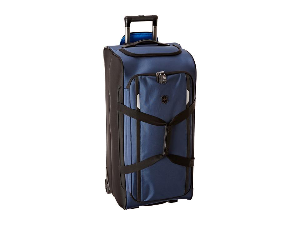 Victorinox - Werks Traveler 5.0 - WT Wheeled Duffel (Navy Blue) Duffel Bags