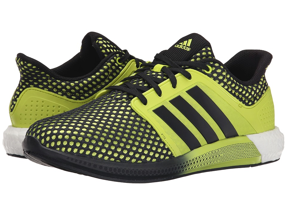 adidas Running Solar Boost Semi Solar Yellow/Black/Semi Solar Yellow Mens Running Shoes