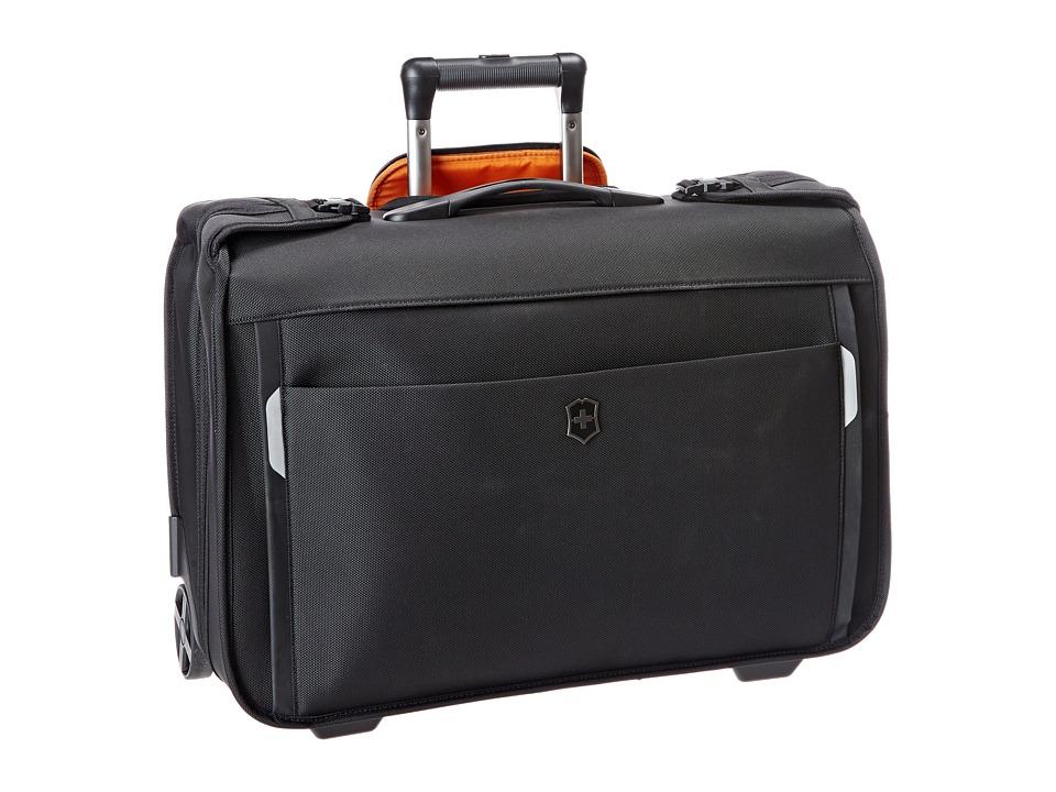 Victorinox - Werks Traveler 5.0 - WT East/West Wheeled Garment Bag (Black) Bags