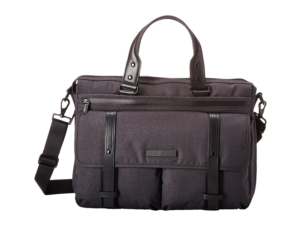 Victorinox - Architecture Urban - Brunswick Laptop Briefcase with Tablet/eReader Pocket (Grey) Briefcase Bags
