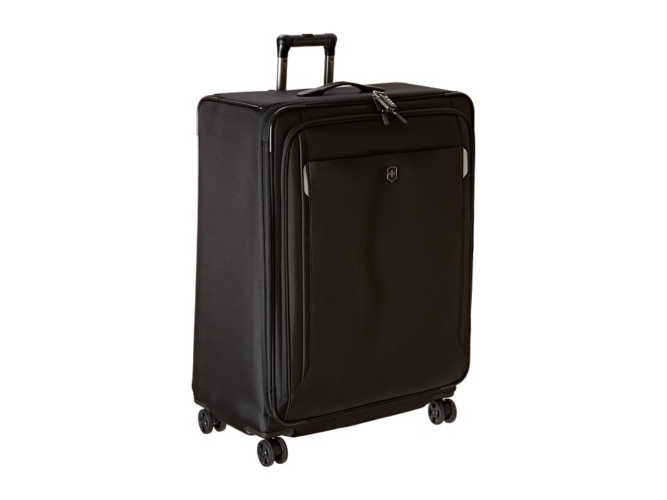 Victorinox - Werks Traveler 5.0 - WT 30 Dual Caster Expandable 8-Wheel Upright (Black) Luggage