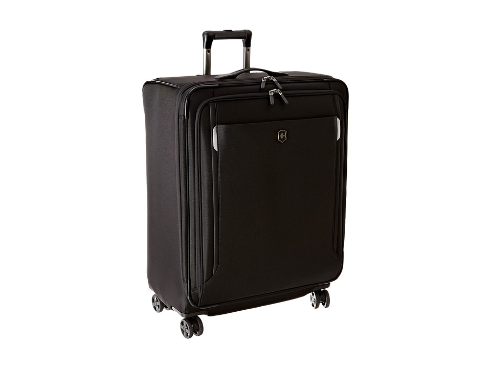 Victorinox - Werks Traveler 5.0 - WT 27 Dual Caster Expandable 8-Wheel Upright (Black) Luggage