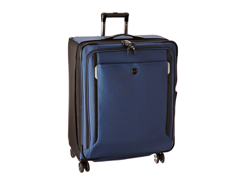 Victorinox - Werks Traveler 5.0 - WT 27 Dual Caster Expandable 8-Wheel Upright (Navy Blue) Luggage