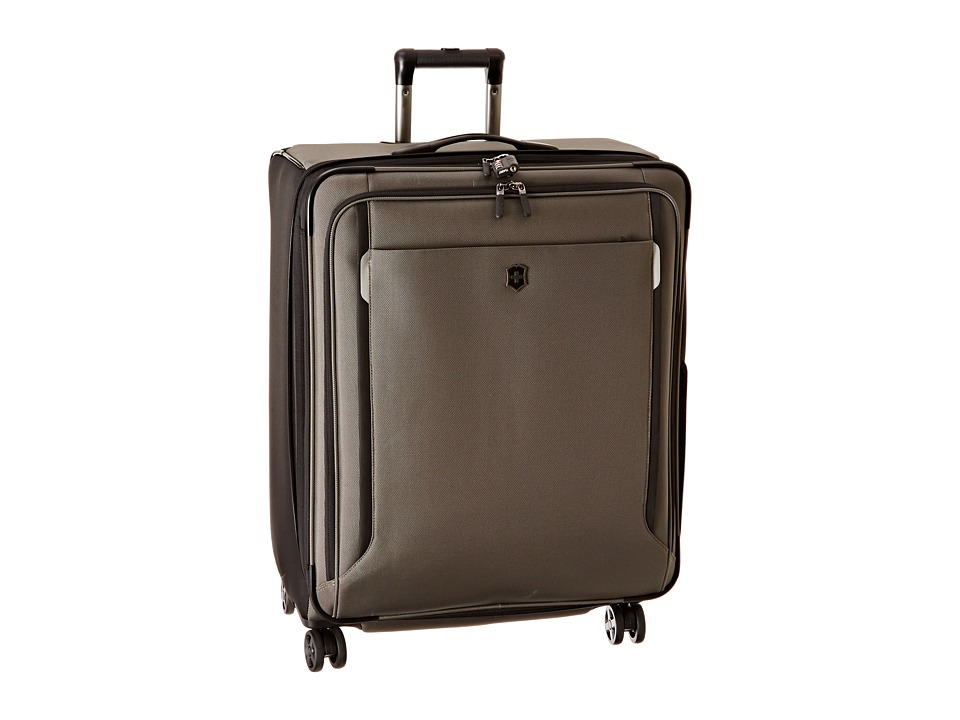 Victorinox - Werks Traveler 5.0 - WT 27 Dual Caster Expandable 8-Wheel Upright (Olive Green) Luggage