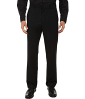 Perry Ellis - Textured Solid Flat Front Dress Pants