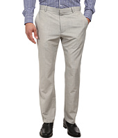 Perry Ellis - End On End Flat Front Dress Pants