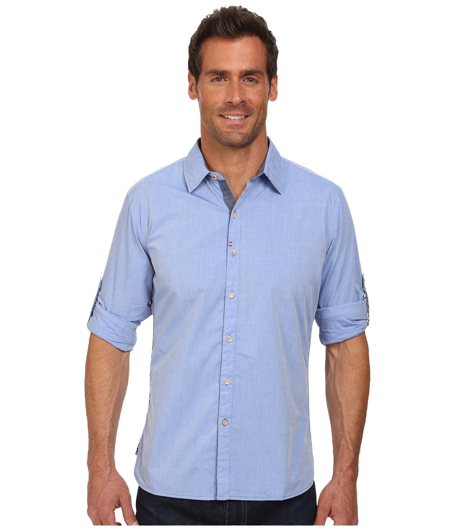 Robert graham coconut grove tailored fit long sleeve woven for Robert graham sport shirt