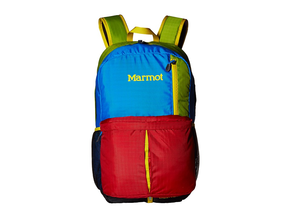 Marmot Calistoga Fire/Green Lichen Backpack Bags