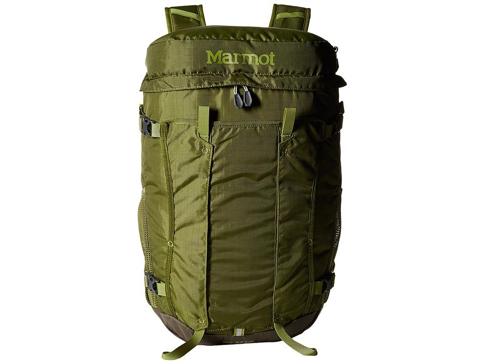 Marmot Big Basin Moss/Green Shadow Backpack Bags