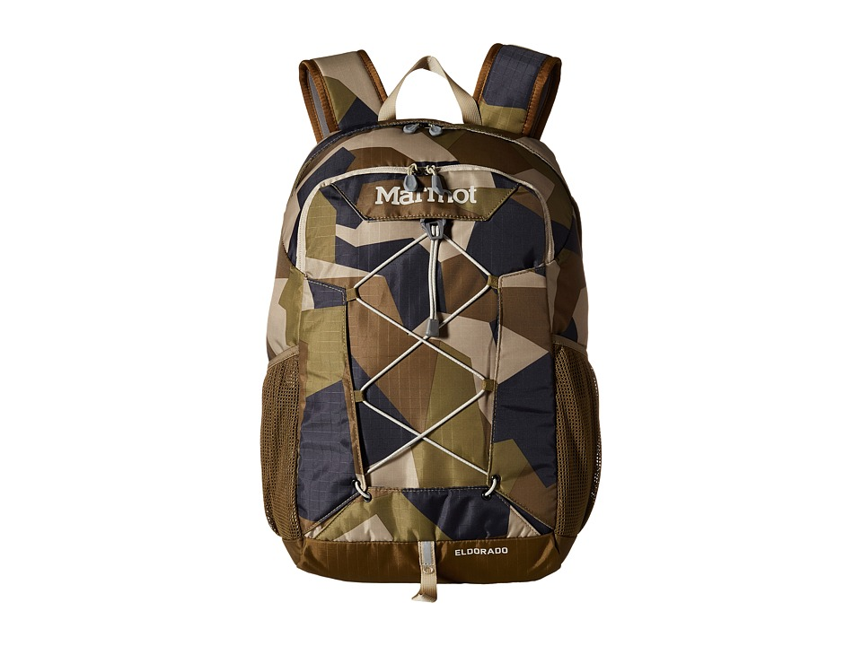 Marmot Eldorado (Fragment Camo/Brown Moss) Backpack Bags