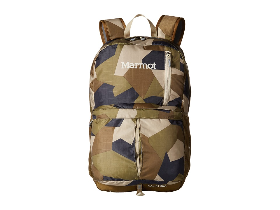Marmot Calistoga Fragment Camo/Brown Moss Backpack Bags