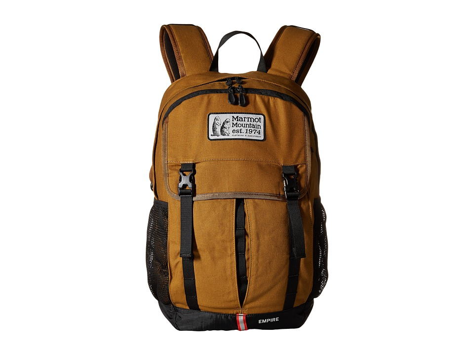 Marmot Empire Waxed Field Brown Outdoor Sports Equipment