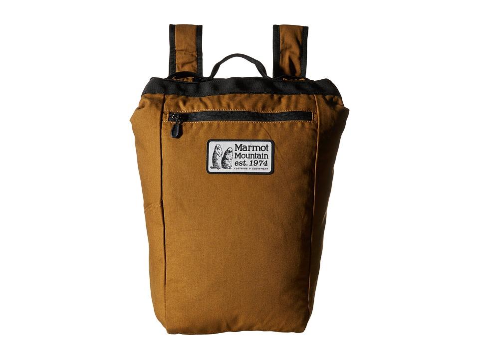 Marmot - Urban Hauler Medium Canvas (Waxed Field Brown) Backpack Bags