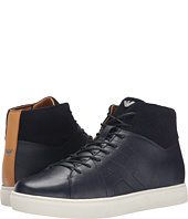 Armani Jeans - Saffiano Leather Hi-Top