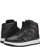 Armani Jeans - Metallic Leather Hi-Top