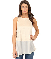 Dylan by True Grit - Sleeveless Peplum Back Zipper