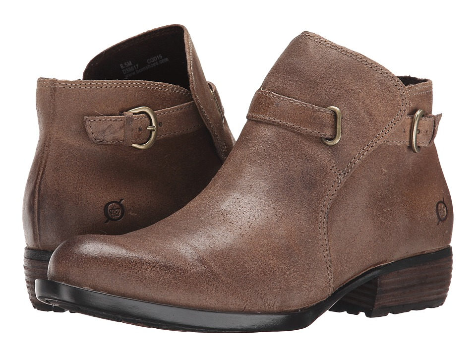 Born Jem (Taupe Oiled Suede) Women