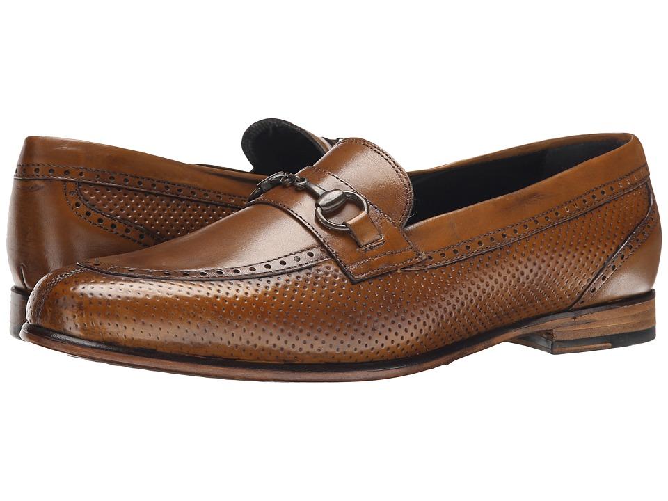 Messico Josue Honey Leather Mens Dress Flat Shoes