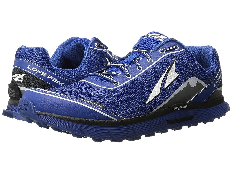Altra Footwear Lone Peak 2.5 Classic Blue Mens Running Shoes
