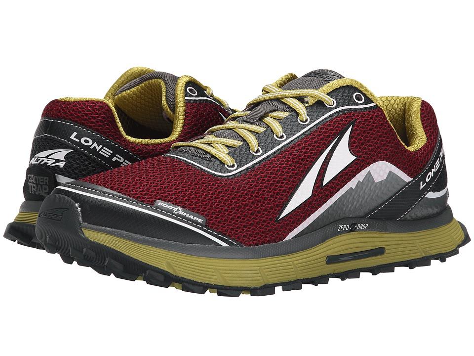 Altra Footwear Lone Peak 2.5 Rio Red Mens Running Shoes