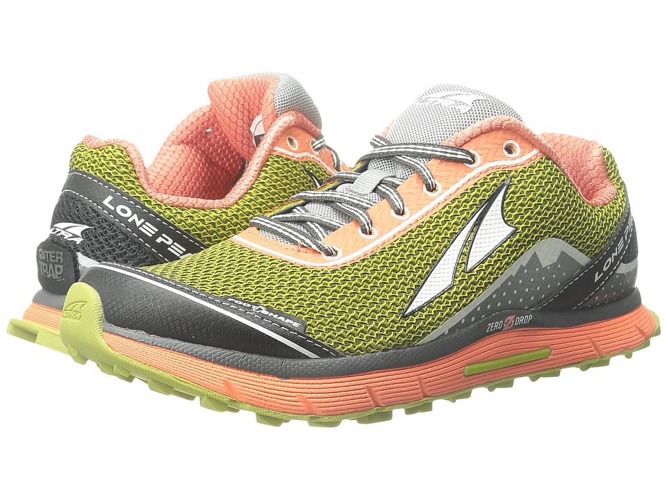 Altra Footwear Lone Peak 2.5 Desert Sunflower Womens Running Shoes