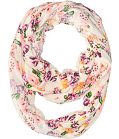 Steve Madden - Neon High Contrast Floral Infinity Scarf